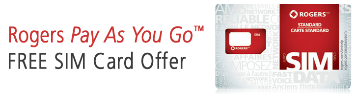 FREE SIM CARD from ROGERS