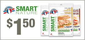 $1.50 off OLYMEL SMART NATURE Product Printable Coupon
