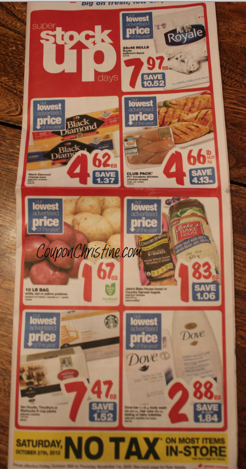 Real Canadian Superstore ONTARIO FLYER Sneak Peek – Oct. 26 – Nov. 1