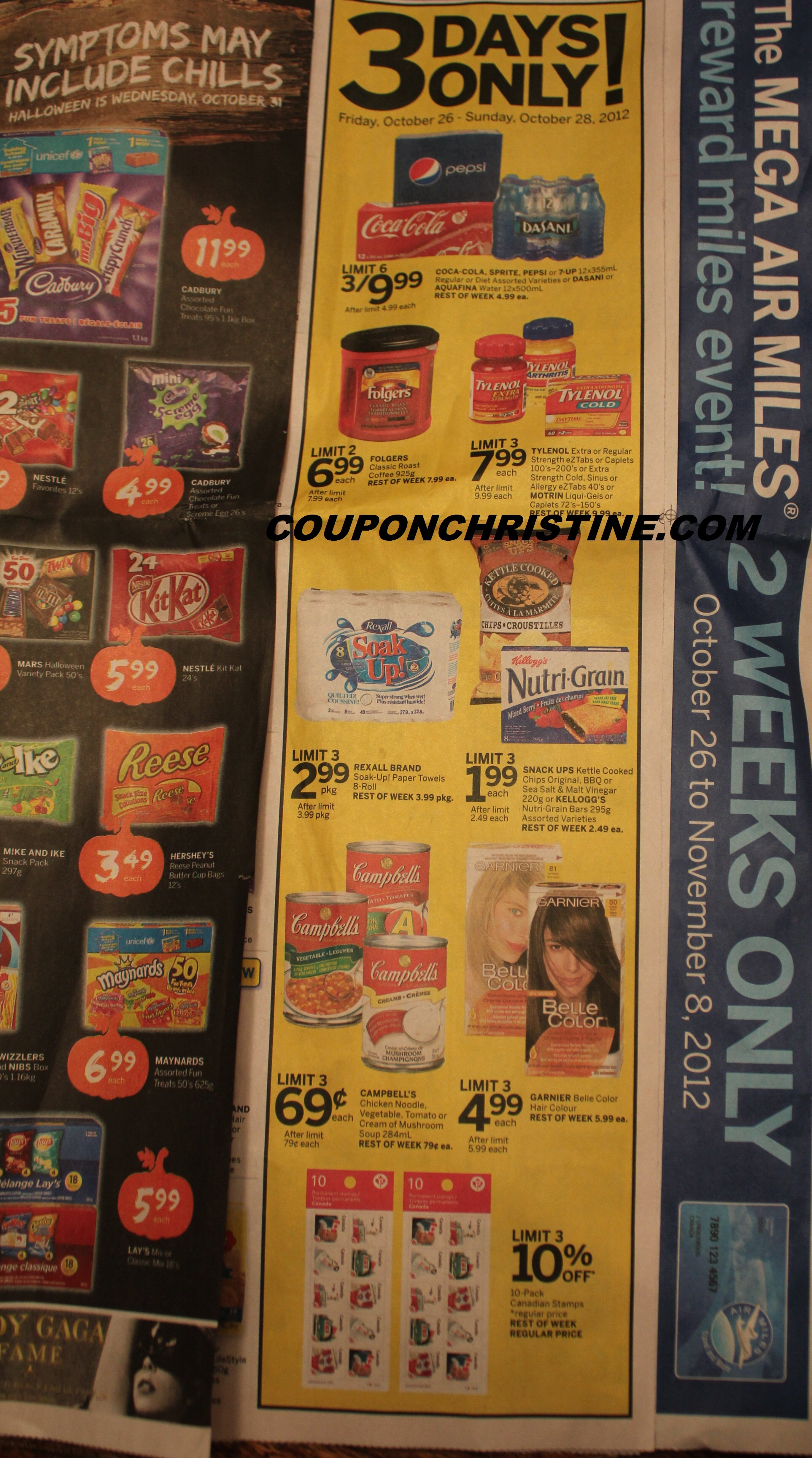 REXALL SNEAK PEEK and 10% off STAMPS (Oct. 26 – Nov. 1)