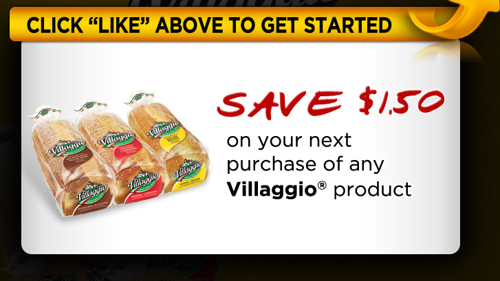 **NEW ** $1.50 off coupon for any VILLAGGIO product