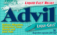 FREE SAMPLE Advil Liqui-Gels : Still Available
