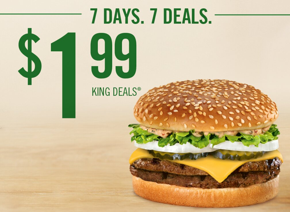 Burger King- King Deals