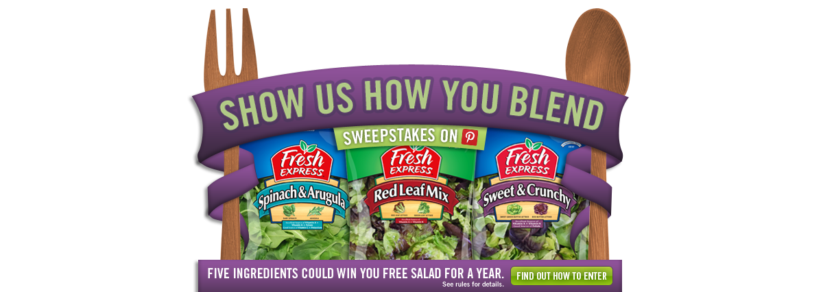 FREE Fresh Express Salad