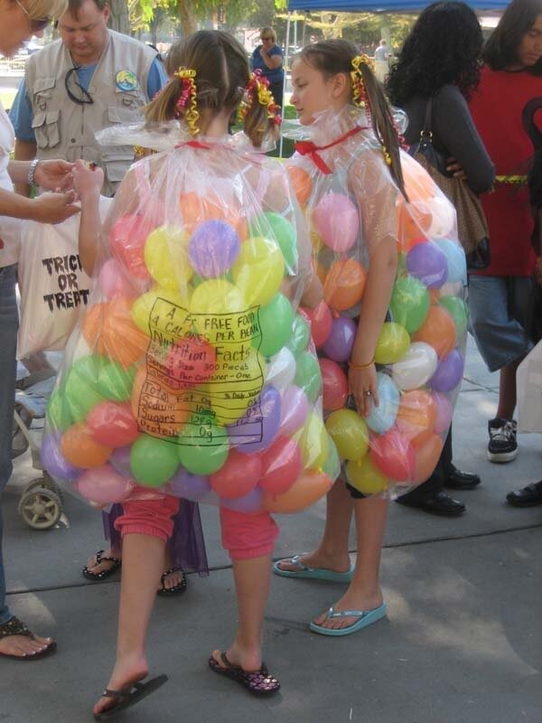 Jelly Bean Bag Halloween Costume