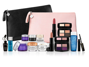 FREE Lancome gift valued at $196 with purchase