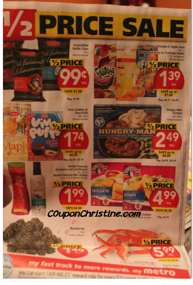 GREAT DEALS on HERBAL ESSENCES + OLYMEL + .50 cents BOLTHOUSE JUICE at Metro