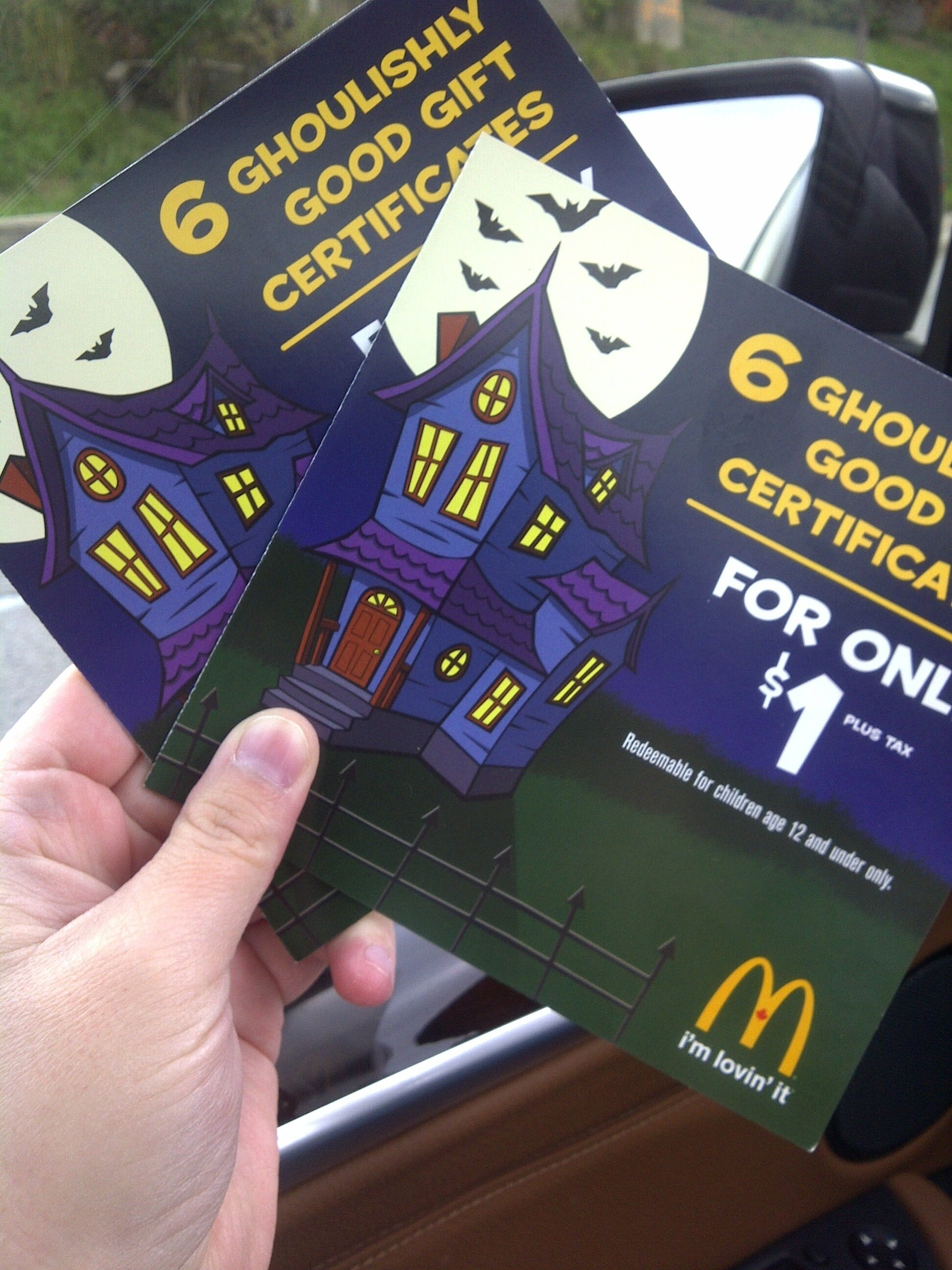 McDonalds Halloween Books are BACK!!!