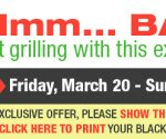** M&M Meat Shop 3 Day Sale ** March 20,21 and 22.
