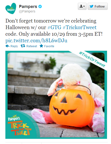 Halloween Time Sensitive Pampers Gifts to Grow Point RELEASED!