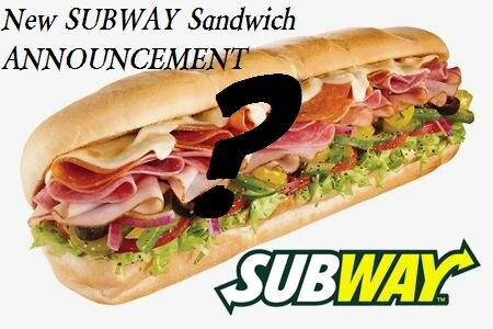 INSIDER INFORMATION about *NEW* SUBWAY SANDWICH for November, 2012