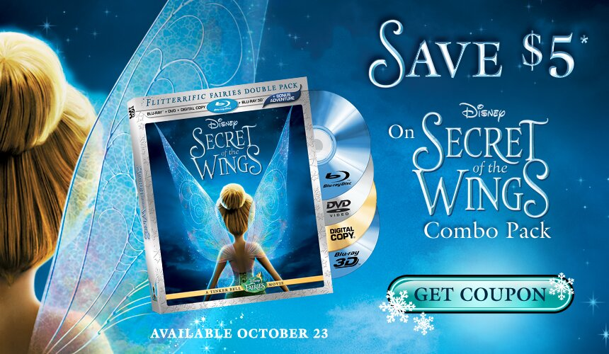The Secret of the Wings Combo Pack Movie Deal – $21.97