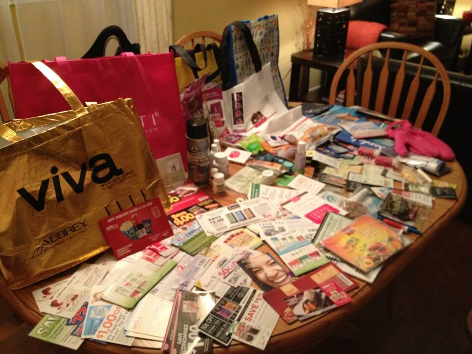 Toronto's Women's Lifestyle Show Loot Bags (yes, plural!)
