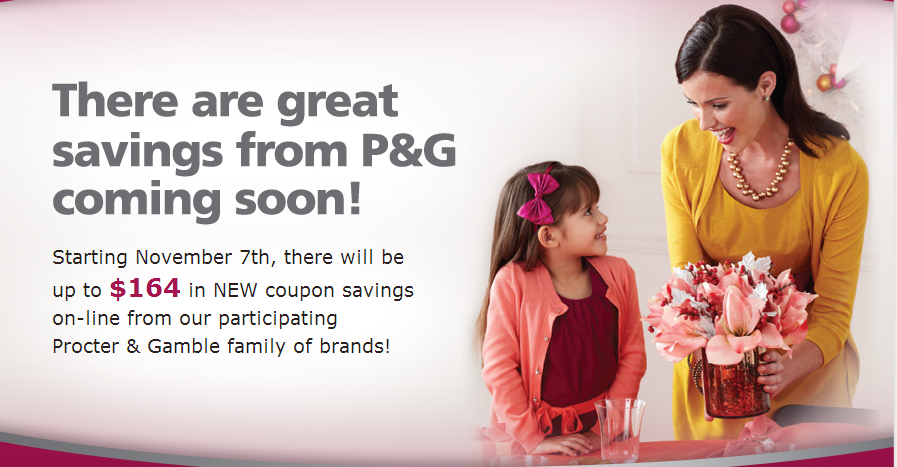 P&G Brandsaver Coupons are LIVE!