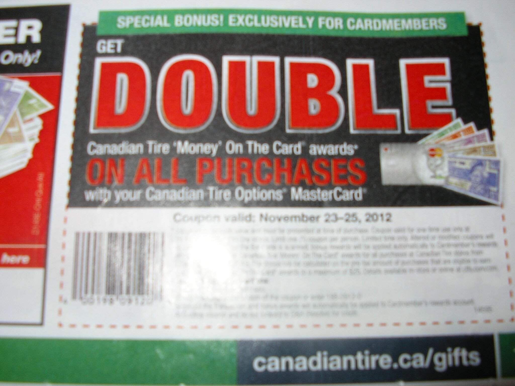 Canadian Tire Gas Deals this Weekend