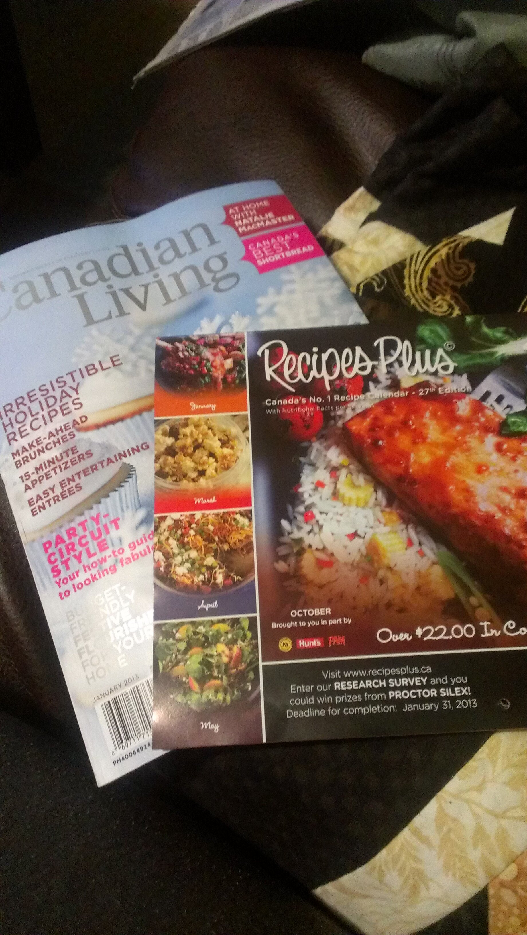 NEW Canadian Living Magazine *Mailed Copy* with TONS of Coupons