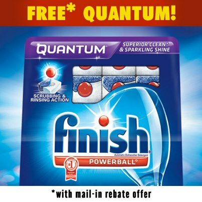 Mail in Rebate for Finish Quantum 20ct