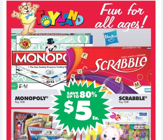 FREE HASBRO BOARD GAME AT ZELLERS