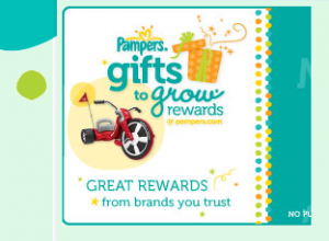 NEW PAMPERS Gift to Grow Points – 5 points