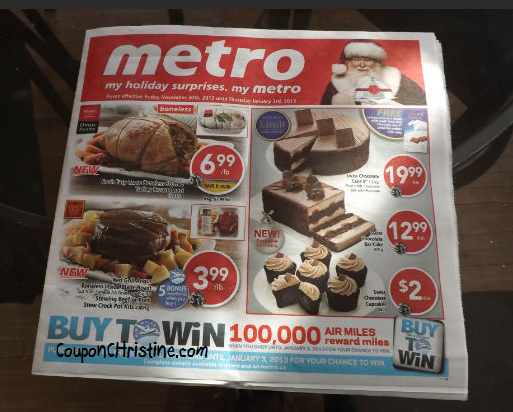 METRO FLYER SNEAK PEEK – Ontario – Nov. 30 – Dec. 6