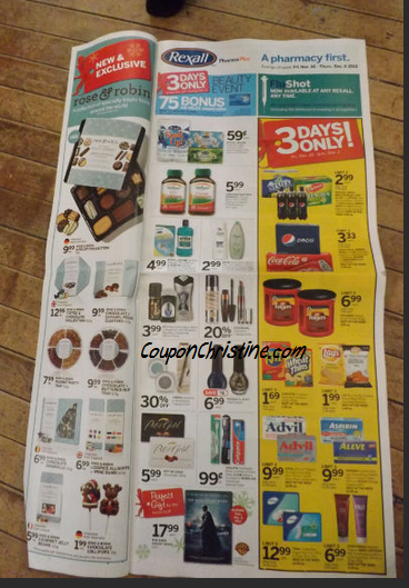 REXALL FLYER SNEAK PEEK (Ontario) – Nov. 30 – Dec. 6, 2012