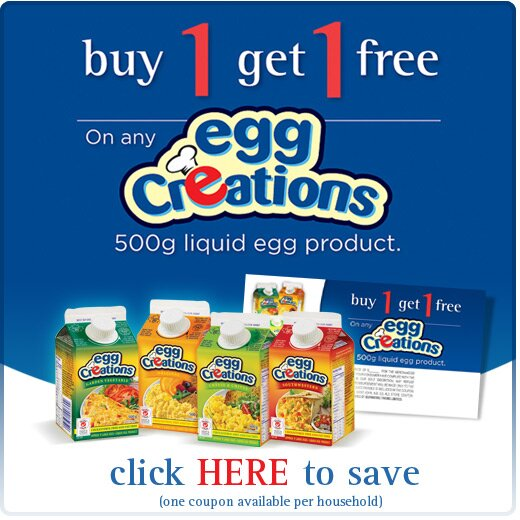 B1G1 Free Egg Creations – Burnbrae Farms and Save.ca