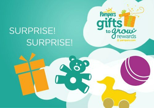 PAMPERS Free Gift To Grow REWARDS Points ~ 20 free points!