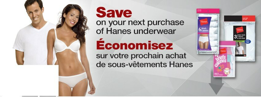 $3 off PRINTABLE coupon from Hane's Canada