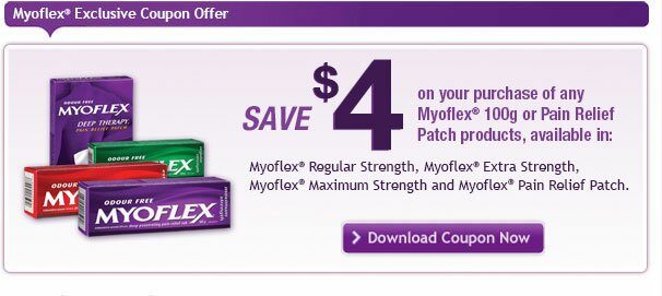 $4 off MYOFLEX Printable Coupon