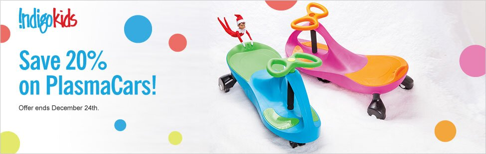 Plasma Cars on Sale at Chapters.ca + PLUS FREE SHIPPING + $5 off