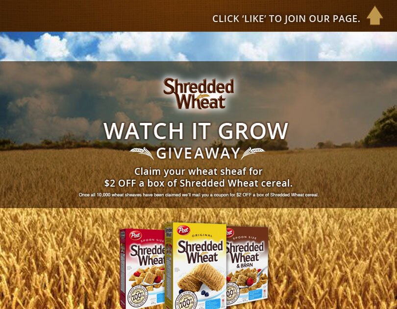 ** NEW ** $2 off SHREDDED WHEAT COUPON **