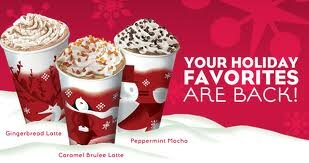 Starbucks Holiday Buy one Get one FREE