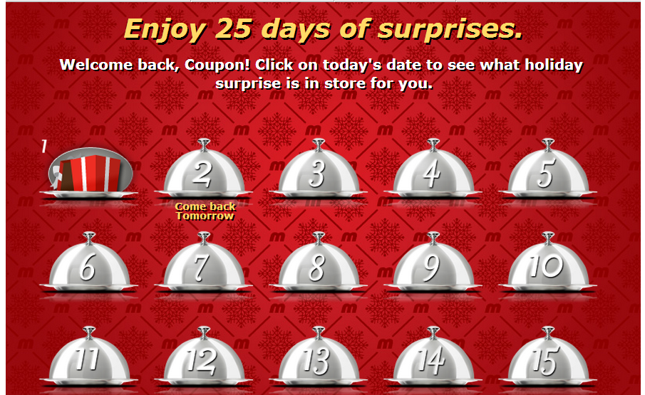 25 Days of Surprises from Metro – Thank You :)