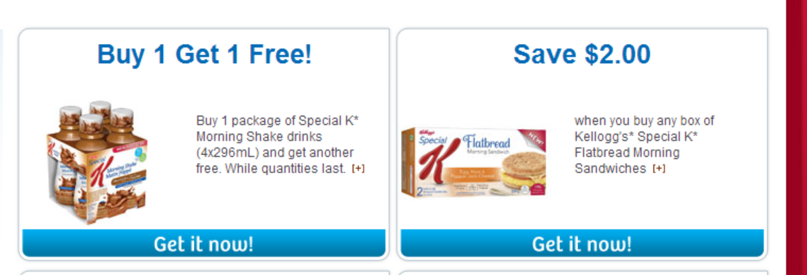 2 NEW KELLOGG's PRODUCTS and 2 NEW COUPONS!