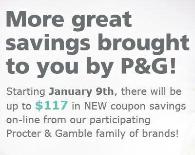 Brandsaver is LIVE!  Go grab your favourite P&G Coupons NOW!