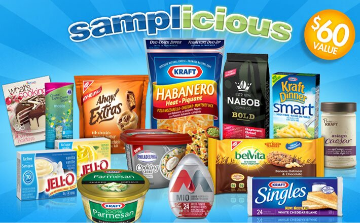 Kraft Samplicious Pack is Back – $25 for a box full of goodies