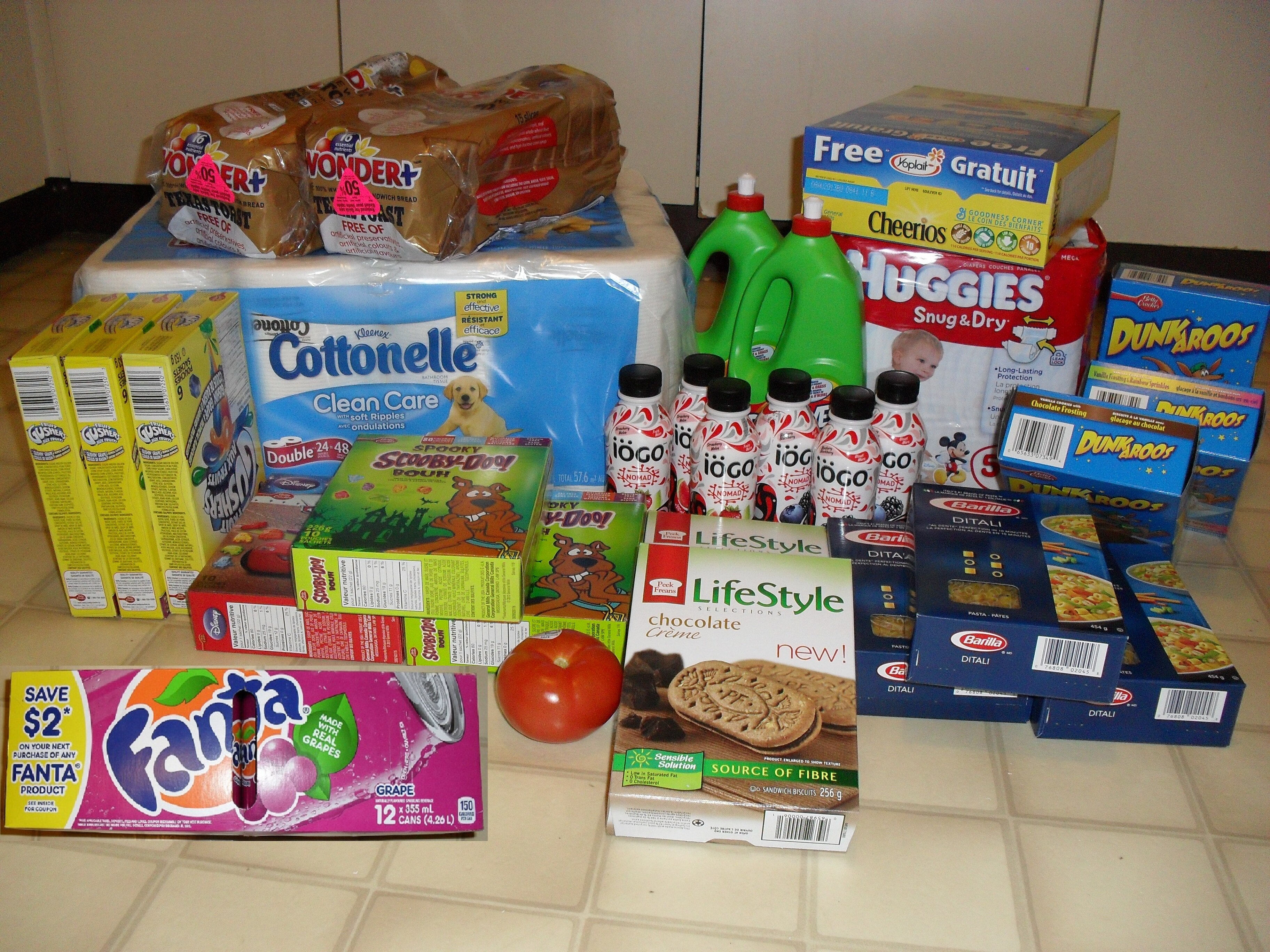 Couponing Shopping Challenge: Contestant #3 – Shopping at No Frills