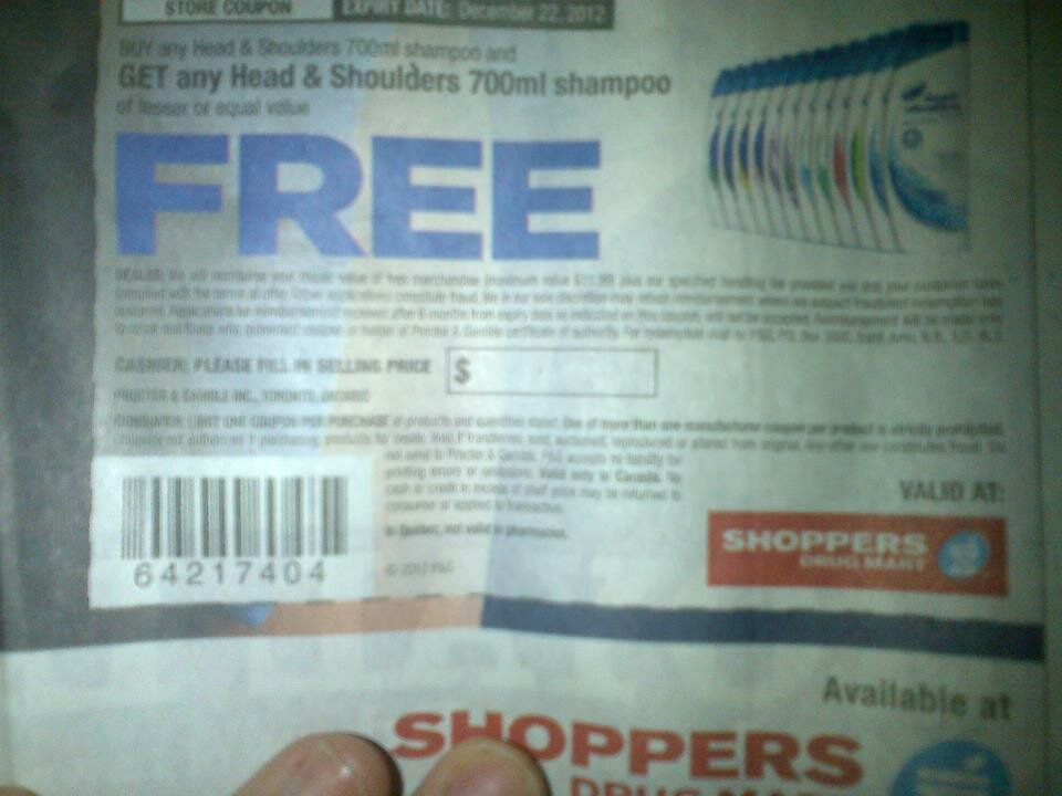 Toronto Star Newspaper: COUPONS for B1G1 Free Hair Products