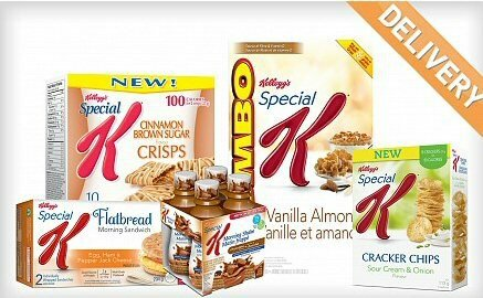 $14 for Kellogg's Special K Bundle through Wagjag!