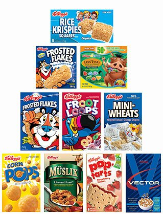 KELLOGGs PORTAL of all your FAVOURITES still available