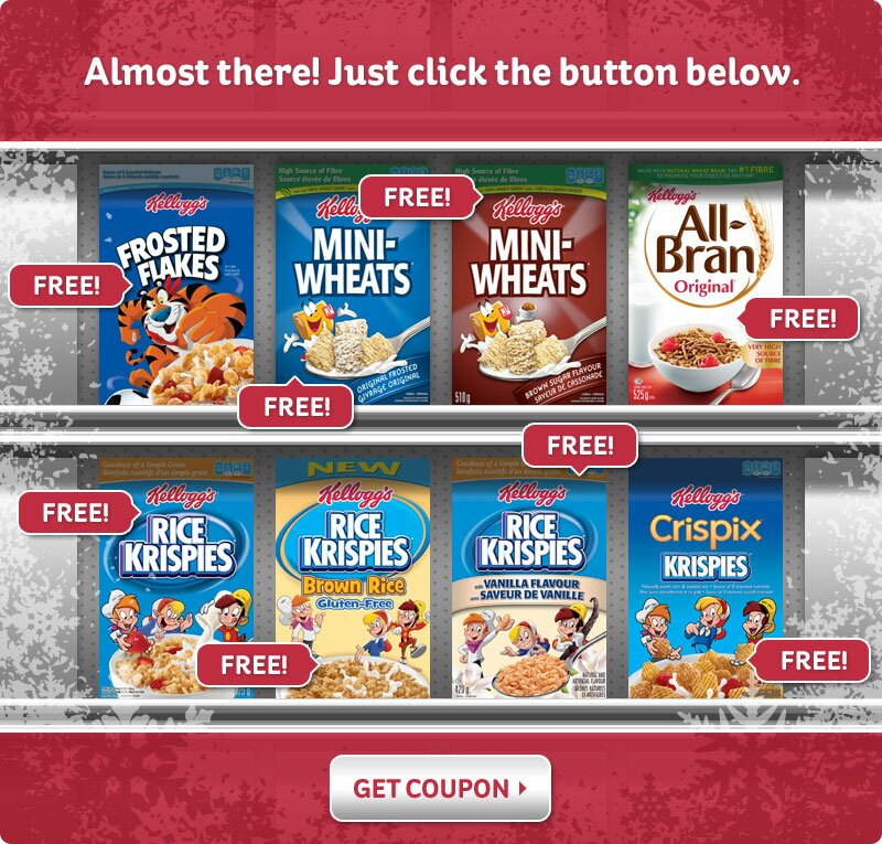 $1 off coupon of KELLOGG'S Cereal on WEBSAVER