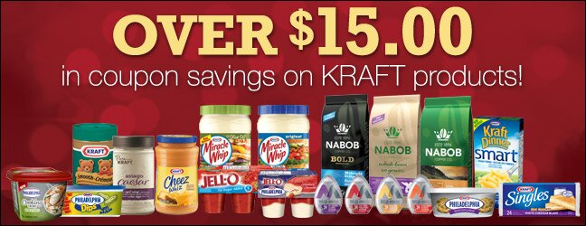 $15 worth of KRAFT coupons from Save.ca!