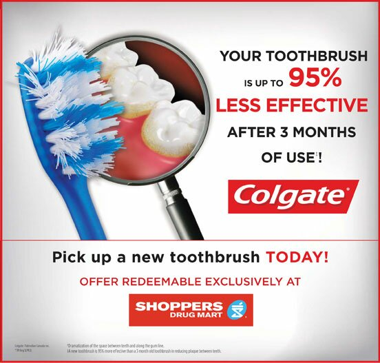 **NEW** Colgate coupon for Shopper's!