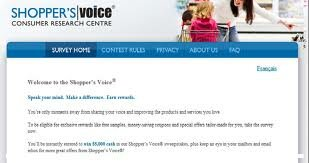 **NEW** Shopper's Voice Survey coming!!