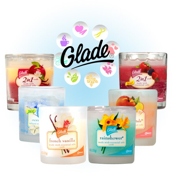 2 FREE Glade Candles starts today!