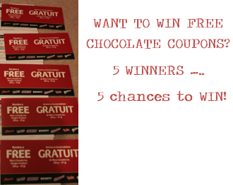 WINNERS of the FPC for Chocolate + a Tim Horton's Gift Card + a few extra goodies are ……