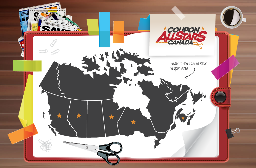 The Canadian Coupon Allstars Team ~ Who we are and what we do!