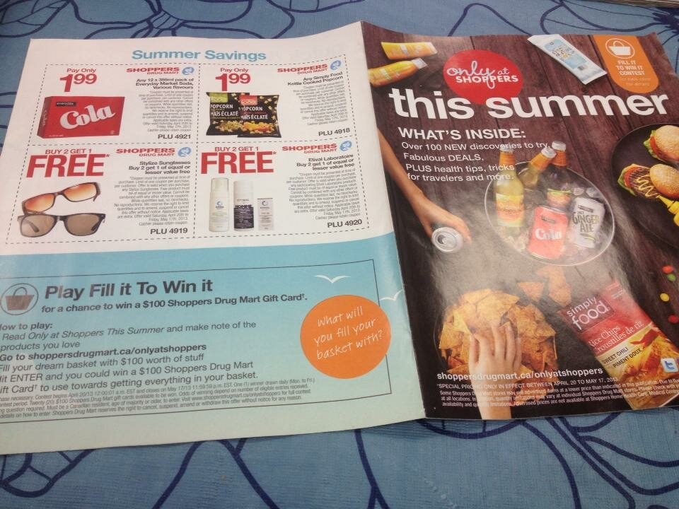 *FREE* Shoppers Drug Mart new BBQ Summer Magazine + COUPONS!