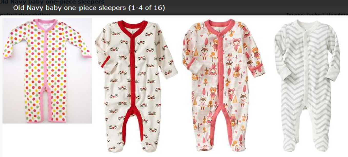 *RECALL* Baby Sleepers – Old Navy AND The Gap Products