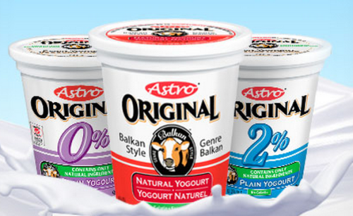 FREE ASTRO Yogurt at Freshco this week!  (with coupon)